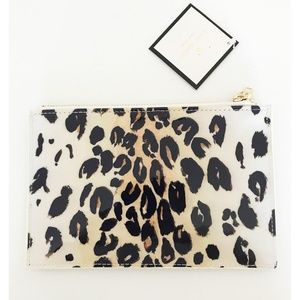 New kate spade new york Leopard Pencil Pouch
